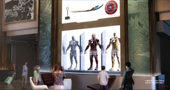 AT D23 EXPO 2017, DISNEY PARKS CHAIRMAN BOB CHAPEK UNVEILS MARVEL-THEMED HOTEL COMING TO DISNEYLAND PARIS -- DisneyÕs Hotel New York Ð The Art of Marvel at Disneyland Paris will transport guests to the action-packed world of Super Heroes, including Iron Man, The Avengers, Spider-Man and more.